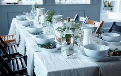 Vuoi stupire i tuoi ospiti? Scegli un tema e decora la tavola in tutto il suo spazio con idee creative e personalizzate. Scopri come - IKEA