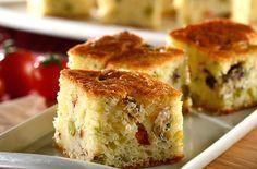 Coqueiro - Torta de Liquidificador com Sardinha