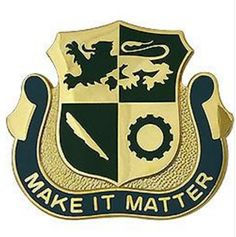 Special Troops Battalion, 1st Armored Division Unit Crest (Make It Matter)