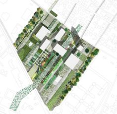 Designed for the 'Mobilicity: Tirana Multimodal Station' competition, the second prize winning proposal consists in giving back an identity to the. Contemporary Landscape, Urban Landscape, Landscape Design, School Architecture, Landscape Architecture, Urban Design Plan, Urban Park, Site Plans, Master Plan