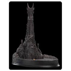 lord of the rings barad dur fortress of sauron polystone diorama weta Barad Dur, Lord Sauron, The Dark Tower, Earth Shoes, Model Maker, Best Watches For Men, Dark Lord, High Fantasy, Middle Earth