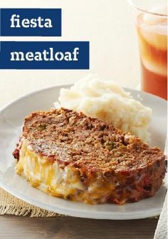 Fiesta Meatloaf -- Party on. This is not just any old meatloaf recipe.. it's a south-of-the-border fiesta in your mouth.