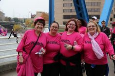 PHOTOS: Making Strides Against Breast Cancer Making Strides Against Breast Cancer took over downtown Grand Rapids on Saturday, October 24, 2015.
