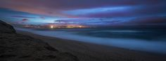 https://flic.kr/p/S3Ly9k   Monterey at Midnight   The city of Monterey lights up the darkness of a quiet beach in Marina, California.