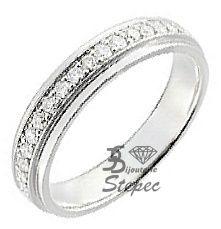 Demi Alliance Diamants Or 750 Girard 3L048GB2
