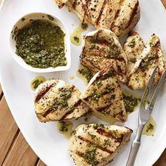 brined chicken breast with basil mint sauce buttermilk brined chicken ...