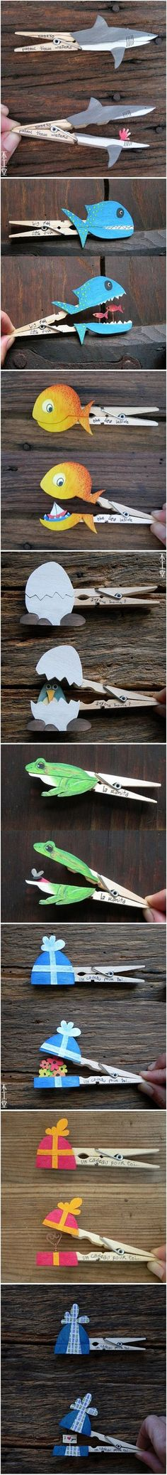 Funny - Fun With Clothespins