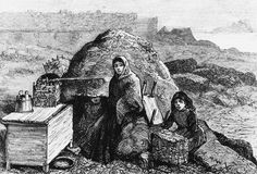 Family evicted at the time of the Land War