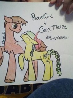 This is Bealfire and Corn Maize they are new to this whole dating thing but love each other just the same