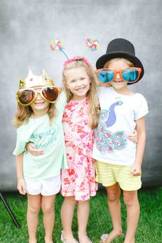 Silly kidlets: http://www.stylemepretty.com/living/2014/09/11/audreys-birthday-party/ | Photography: Ruth Eileen - http://rutheileenphotography.com/