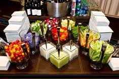 Vegetable Display at the Hyatt Regency Atlanta