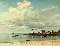 Gallery: Places Gloucester, MA - Annisquam Light, 1904  Annisquam Light in Gloucester, Massachusetts by the Detroit Photographic Co, 1904. Vintage photo restored by Kathy Weiser-Alexander.