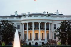 Washington DC Monuments - The White House