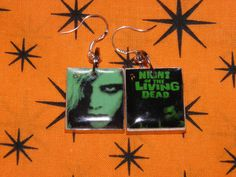 Zombie Earrings Night of the Living Dead Jewelry by MelancholyMind, $9.99,, I bet these are popular.