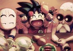 FanArt_ awsome Goku Krillin and Roshi _Dragon Ball by Anto Lehuss Dbz, Dragon Ball Z, Manga Dragon, Chibi, Manga Anime, Anime Art, Kid Goku, Tokyo Otaku Mode, Sarada Uchiha