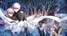 You know.......even if the manga and anime kinda differs from plot, Tokyo Ghoul is really a tragic story for the characters. It's sad how Kaneki and the others suffer because of what they are, both humans and ghouls :''(