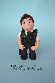Police officer cake topper | Flickr - Photo Sharing!