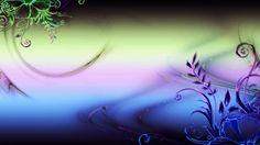 Rainbow flower abstract digital 3d and cg HD Wallpaper
