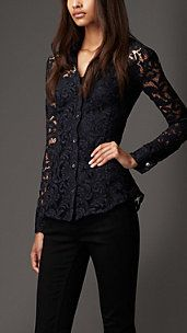 Fitted Lace Shirt in love with that shirt!!!