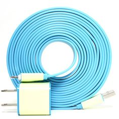 iPhone 5 Charger 10ft Blue, $40, now featured on Fab.