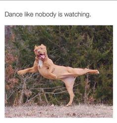 Danser comme si personne ne regarde