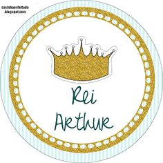 Kit Festa Rei Arthur Para Imprimir Grátis