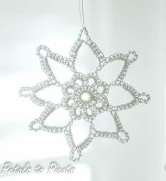Grandma Jennie's Snowflake Pattern: Part 1 | Petals to PicotsPetals to Picots