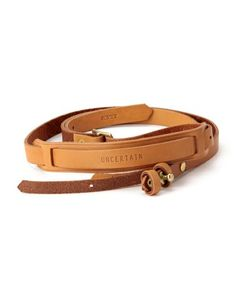 Camera Strap by Uncertain and Porter with BE YOSHIDA