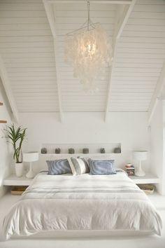 Beach House Bedroom ~ white