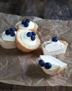Gluten Free Cookie Cups with No-Bake Cheesecake Filling | Gluten Free on a Shoestring
