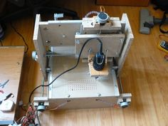 CNC Router for $100. On my project list!