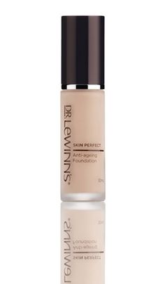 (Ivory) For a radiant, youthful glow, the Dr. LeWinn's Skin Perfect Foundation is ideal for women wanting long-lasting foundation while also offering great coverage and sun protection. With a soft powdery finish, the formula helps visibly smooth wrinkles and fine lines, leaving skin looking firmer and more youthful. In addition to rose stem cells, matrixyl synthe'6 and tourmaline, it also contains hyaluronic acid, which assists in hydrating the skin giving it a beautiful, radiant glow.