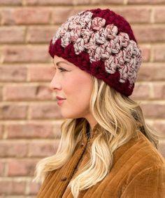 Granny Stitch Hat: FREE easy level crochet pattern