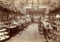 Vapaa-aikaa vietettiin kaupoissa, esimerkiksi Lontoossa Harrodsilla. Tavaratalot yleistyivät 1800-luvun lopulla.