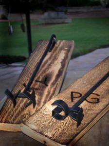 Initial Branding Iron -- Groomsmen gift idea