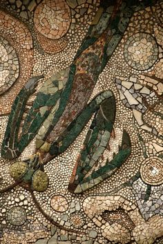 Mosaic at Tama zoo, Japan
