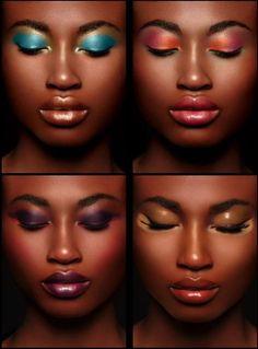 Make up for darker skin