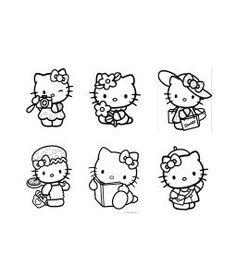 Hello Kitty Digi Images