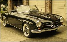 Mercedes- Wouldn't I love to have one of these!!!