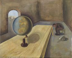 Hidden: The exhibition not only explains how the art was made, but how it survived the Nazis to speak to new generations. Pictured, Felix Nussbaum's 'The Refugee', which was painted in 1939