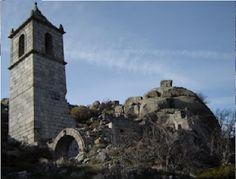 Las ruinas de la Ermita de San Salvador, situada en la Sierra de Tormantos por encima de Garganta la Olla.