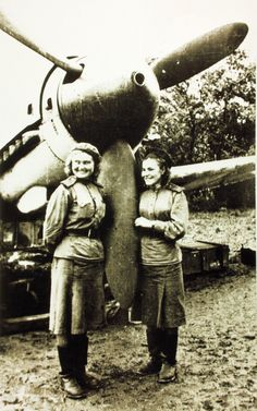 Night witches. Russian female bomb pilots.