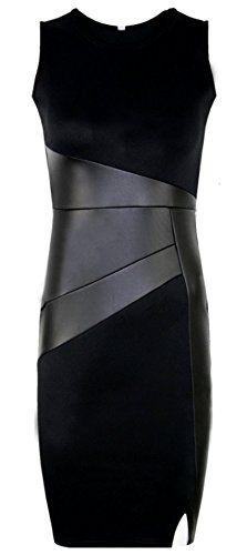 [ドナリー]ノースリーブ スリム ドレス ワンピース 膝上丈 ブラック レディース(M) ドナリー https://www.amazon.co.jp/dp/B07BFBZVR4/ref=cm_sw_r_pi_dp_U_x_H.r2AbKNC5M24