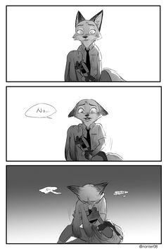 Zootopia Comic Nick and Judy  I hope that won't happen!!!