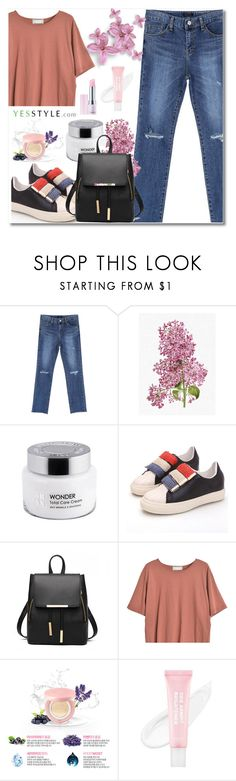"""Show us your YesStyle"" by aida-nurkovic ❤ liked on Polyvore featuring Chlo.D.Manon, Goroke and Lirikos"