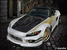 Supercars slideshow - Green,gold,white 'n' silver - WidEyeDesigns
