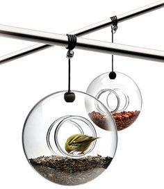 Mangeoire à oiseaux Verre transparent - Eva Solo - Décoration et mobilier design avec Made in Design