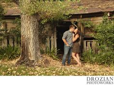 Red Bluff rustic barn Engagement Photography
