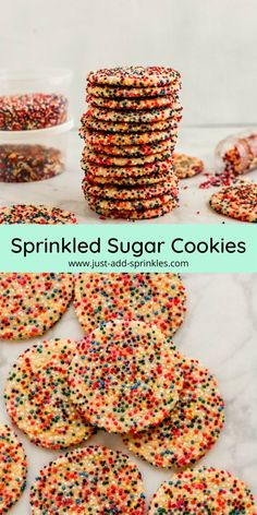 Easy Sugar Cookies, Homemade Cookies, Homemade Desserts, Sugar Cookies Recipe, Yummy Cookies, Baking Recipes, Cookie Recipes, Dessert Recipes, Favorite Sugar Cookie Recipe