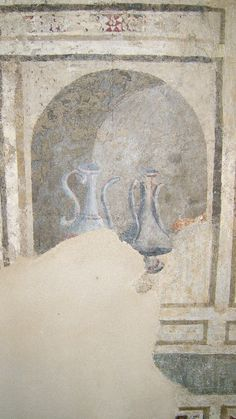Taddeo Gaddi - Storie del Vangelo, dettaglio - Affreschi - 1330-1350 - Cappella dei Conti Guidi - Castello dei Conti Guidi, Poppi (Arezzo)